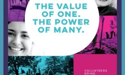 Volunteer Week The Power of One